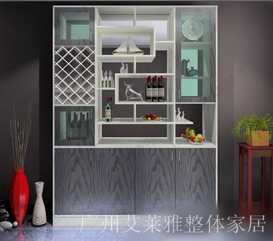 美亚衣柜-酒柜系列; 供应美亚衣柜简约实木酒柜; 博物架