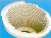 層疊式井式爐用陶瓷纖維加熱模塊
