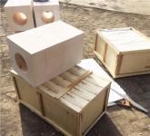 陶瓷纖維電阻絲微露式加熱器
